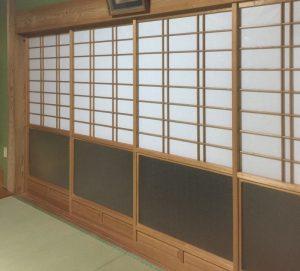 飯塚市(N様邸)畳、障子を納品いたしました