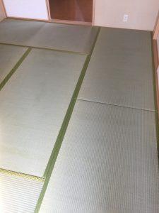 嘉麻市(M様邸)畳、襖を納品いたしました