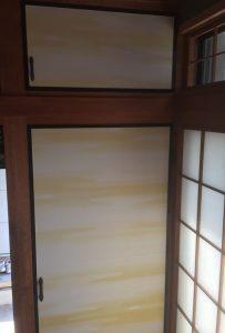 大牟田市(A様邸)襖を納品致しました