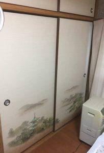 北九州市(I様邸)襖を納品いたしました
