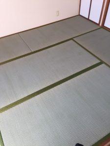 京都郡(借家)畳を納品いたしました
