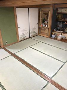 久留米市(B様邸)畳を納品いたしました。