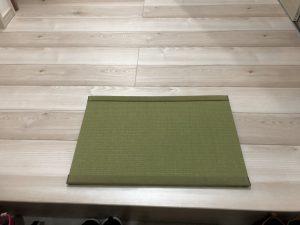 都城市(Y様邸:新築)畳の玄関マットを納品しました。
