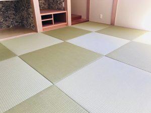 阿蘇市(O様邸:新築)畳を納品しました。